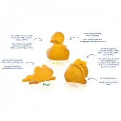 Set de juguetes de baño de látex
