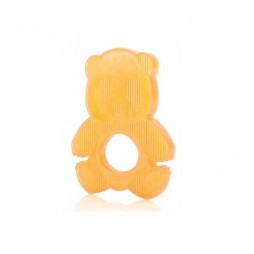Natural rubber teether panda