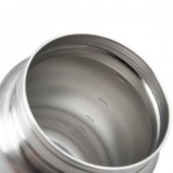 Biberon en acier inoxydable 266ml.
