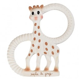 Anneau de dentition en caoutchouc très souple Sophie la girafe