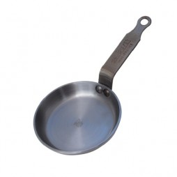 Mineral B Iron frying pan 12cm. De Buyer