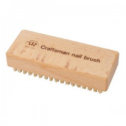 Craftman's Extra Stiff Natural Bristles Nail Brush