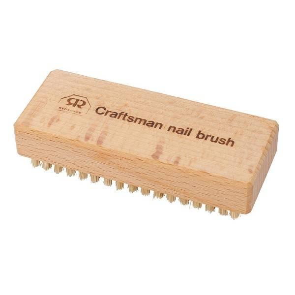 Craftman's Extra Stiff Natural Bristles Nail Brush