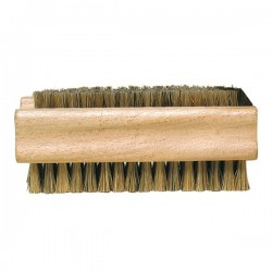 Double-Sided Natural Bristles Nail Brush