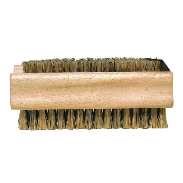 Double-Sided Natural Bristles Nail Brush