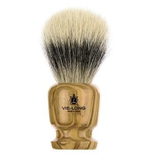 Brocha de afeitar de madera de olivo Ø21mm