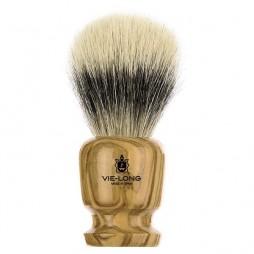 Olivewood Shaving Brush Ø21mm