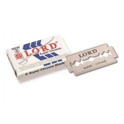Paquet 5 lames de rasoir LORD
