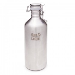 "Stainless steel Bottle ""Growler"" 1182ml."