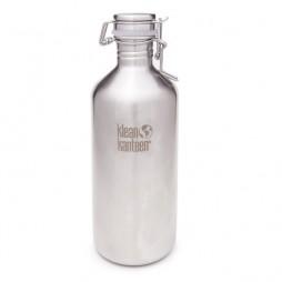 """Stainless steel Bottle """"Growler"""" 1182ml."""