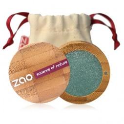 Pearly eye shadow ZAO 109 Turquoise nacré
