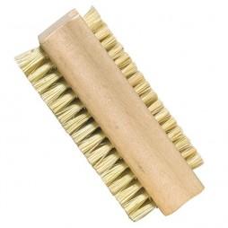 Cepillo de uñas de fibras vegetales 2 caras