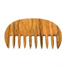 Peigne cheveux frisés