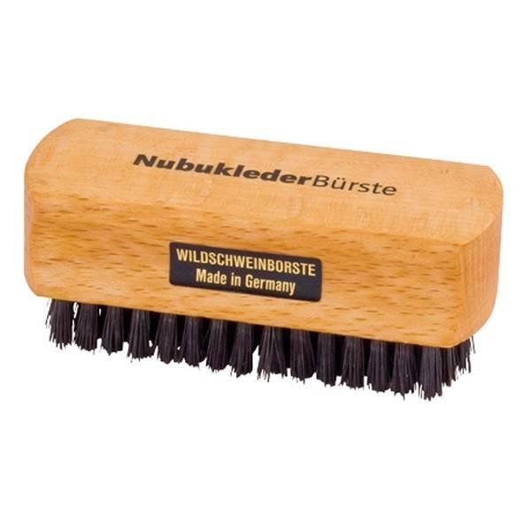 Nubuck leather brush