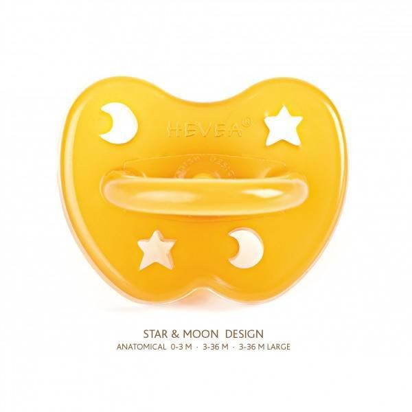 """Tétine 3-36 mois Caoutchouc """"étoiles"""" Large"""