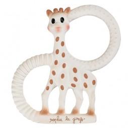 Anneau de dentition en caoutchouc souple Sophie la Girafe