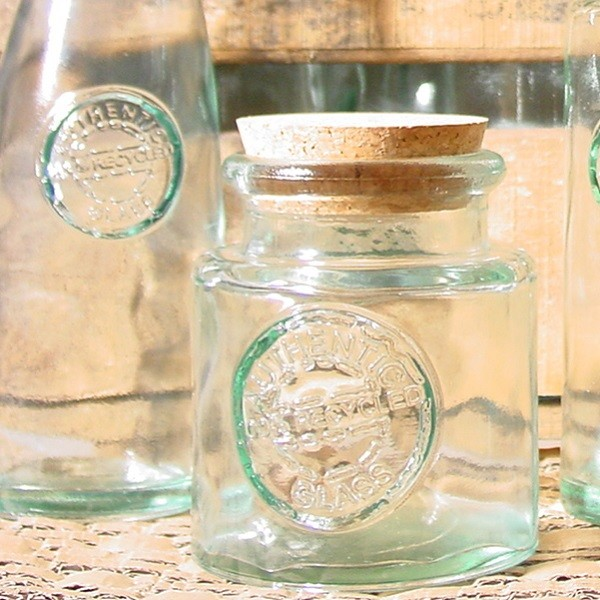 tarro de vidrio reciclado redondo 025l - Tarros De Vidrio