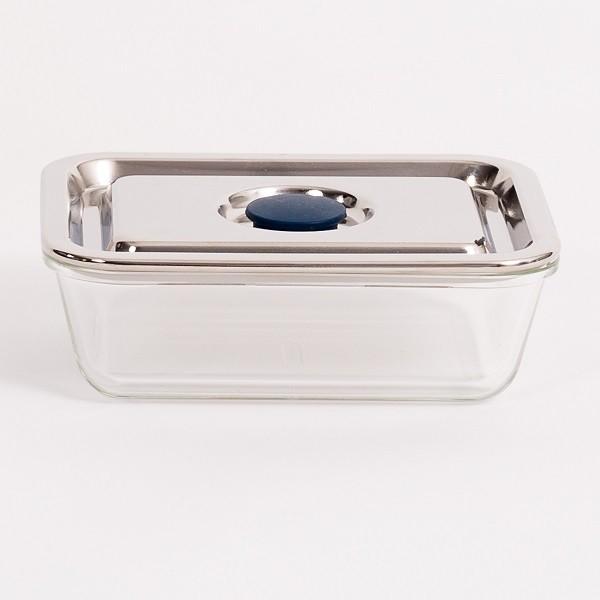 bo te repas rectangulaire en verre 800ml onyx containers. Black Bedroom Furniture Sets. Home Design Ideas