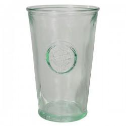 Vaso de vidrio reciclado 0,30l.