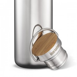 Mirrored stainless steel Bottle The Reflect, 532ml.