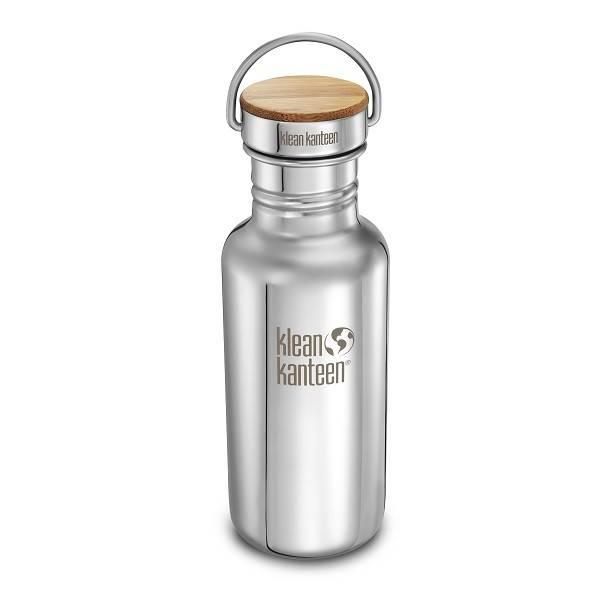 Botella de acero inoxidable pulido The Reflect, 532ml.