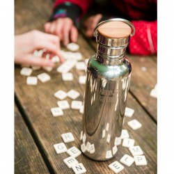 Mirrored stainless steel Bottle The Reflect, 800ml.