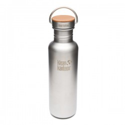 Brushed stainless steel Bottle The Reflect 800ml.