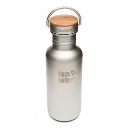 Brushed stainless steel Bottle The Reflect 532ml.