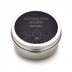 "Shaving soap ""Activación sólida"" 80ml."