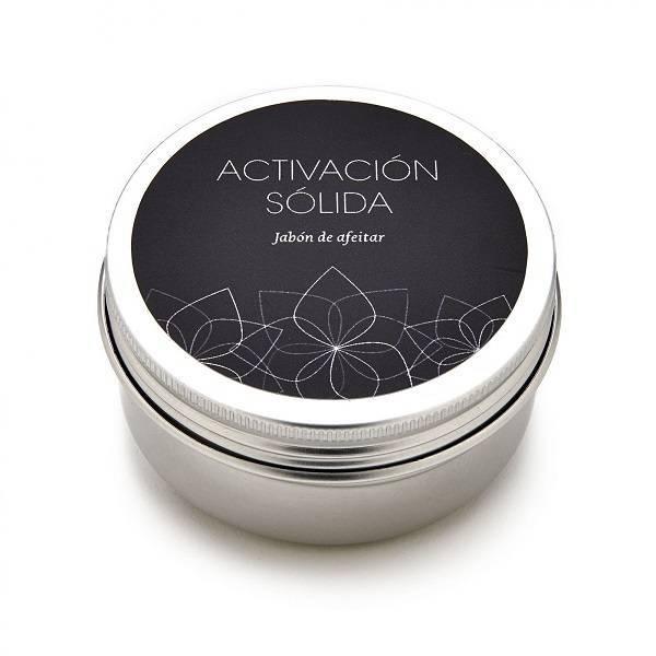 """Jabón de afeitar """"Activación sólida"""" 80ml."""