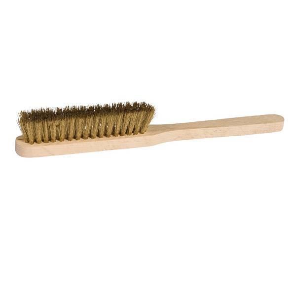 Cepillo rascador con fibra de latón