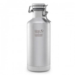 "Botella térmica de acero inoxidable ""Growler"" 946ml."