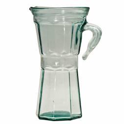 Jarra de vidrio reciclado 850ml.