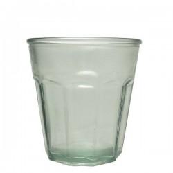 """Vaso de vidrio reciclado """"Casual"""" 250 ml."""