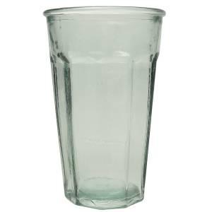"""Vaso de vidrio reciclado """"Casual"""" 500ml."""