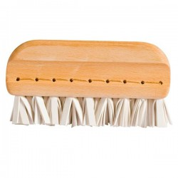Small lint and animal hair remover brush