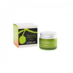 Organic mint lip balm MATARRANIA 15gr.