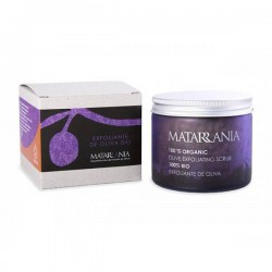 Organic Exfoliating scrub with olive stone MATARRANIA 250ml.
