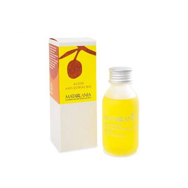Organic anti-strech mark oil Matarrania 100ml.