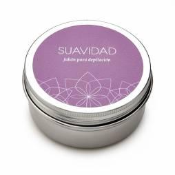 """Jabón para afeitado y depilación """"Suavidad"""" 80ml."""