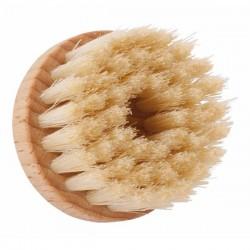 Round manual facial cleansing brush