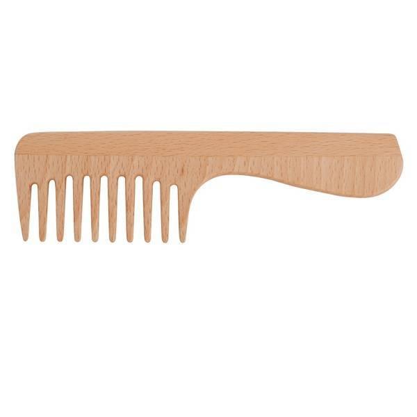 Peigne cheveux frisés avec manche