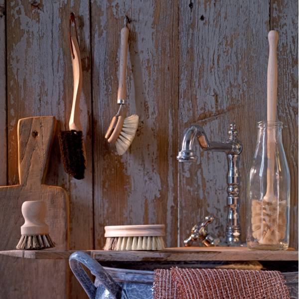 Cepillo para vajilla de madera redecker - Cepillo de madera ...