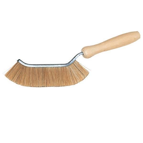 Cepillo fino de cerdas naturales para esquinas y bordes