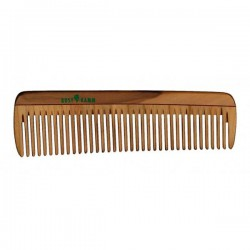 Wooden Comb with Regular Teeth 14cm.