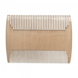 Double Wooden Comb for Lice and Nits