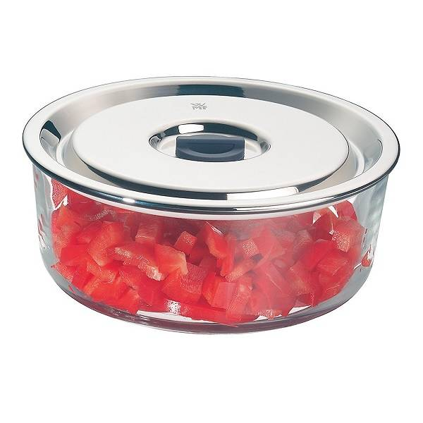 Airtight Glass Amp S Steel Food Storage Container 1 25l Top
