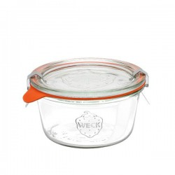 "Glass Airtight Canning Jar ""MOLD"" Low 0,29l."
