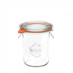 "Glass Airtight Canning Jar ""MOLD"" 160 ml."