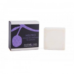 Mousse de savon bio Matarrania 125gr.